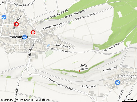 Karte: Wilchingen