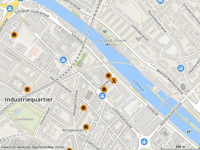 Karte: Zürich