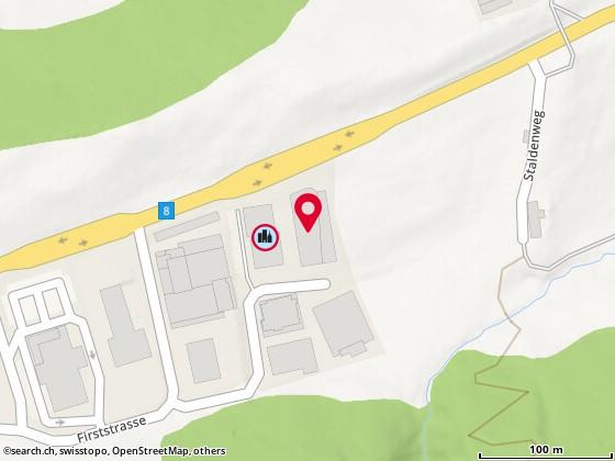 Karte: MARIGIN ZENTRUM F�R TIERMEDIZIN, Feusisberg, Firststr. 31
