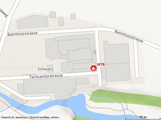 Karte: Bubikon, Ritterhausweg