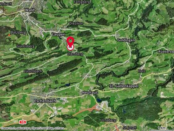 Karte: Menzi AG, Eschenbach, Sternenhalde 1