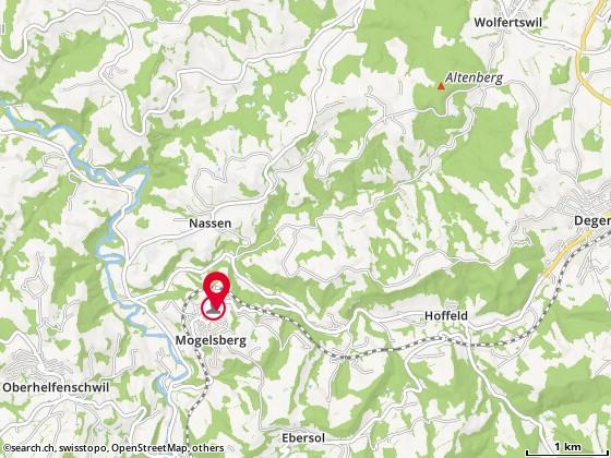 Karte: Trescher, Erika und Christoph (-Rippstein), Mogelsberg, Dorfstr. 35