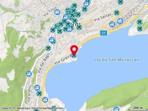 Karte: St. Moritz, Via Grevas 34
