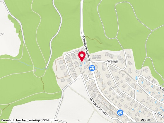 Karte: Uitikon Waldegg, Schlierenstr. 59