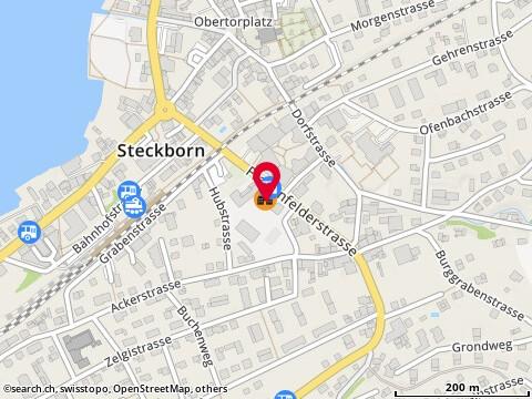 Karte: Steckborn, Frauenfelderstr. 10