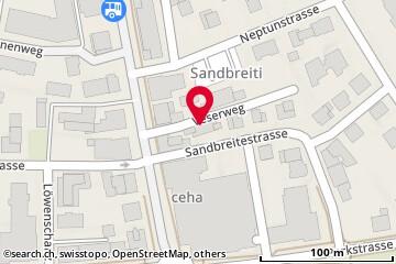 Map: Kreuzlingen, Veserweg 2
