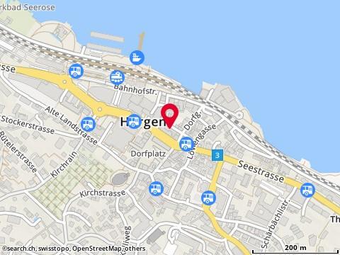 Karte: Horgen, Seestr. 149