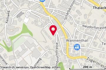 Karte: Horgen, Steinbruchstr. 12