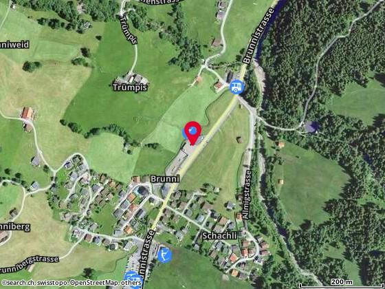 Karte: Alpthal, Brunnistr. 8