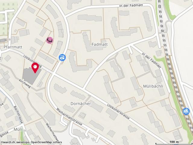 Karte: Urdorf, Weihermattstr. 40