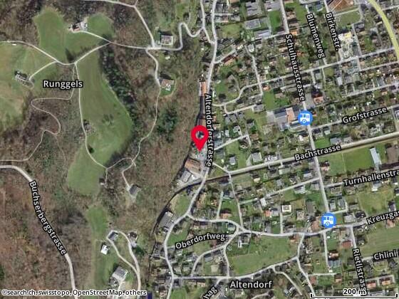 Karte: altendorfstrasse 16, Buchs
