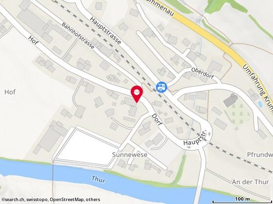 Karte: Krummenau, Dorf 31