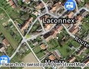 Karte von: Chez le Docteur restaurant Laconnex