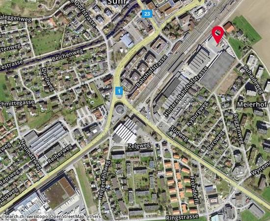 5034 Suhr Hintere Bahnhofstrasse 13