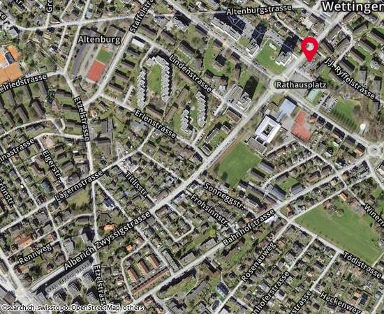 5430 Wettingen Alberich Zwyssig - Strasse 78