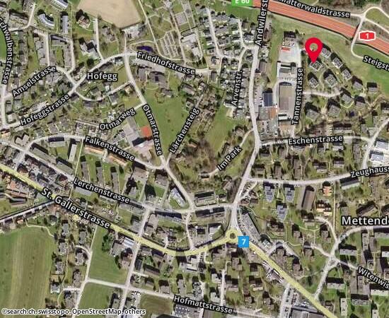 9200 Gossau SG Chellenweiherweg 1a