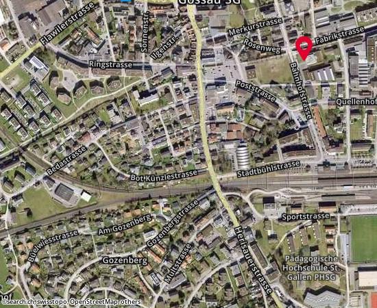 9201 Gossau Bahnhofstrasse 25