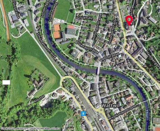 9630 Wattwil Schulhaus Gr