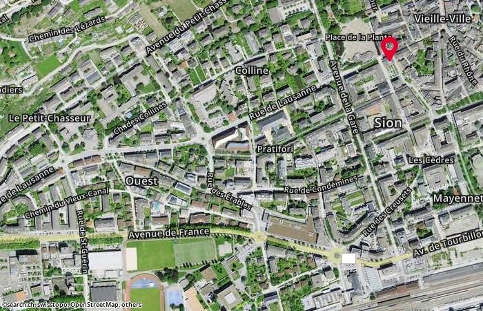 1950 Sion 2 Rue de Lausanne 23