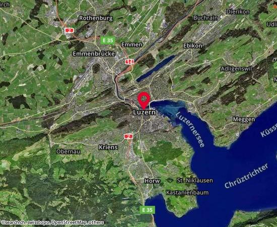 Luzern Abteilung Gemeinden