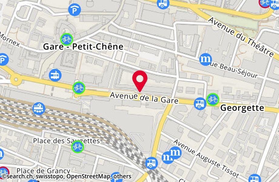 avenue de la Gare 26,1003 Lausanne