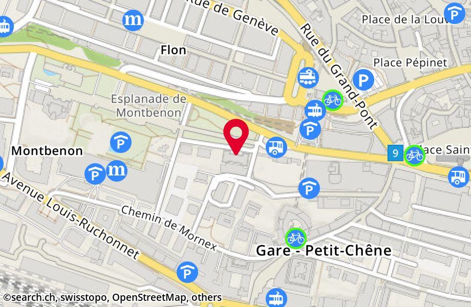 avenue de Montbenon 2,1003 Lausanne