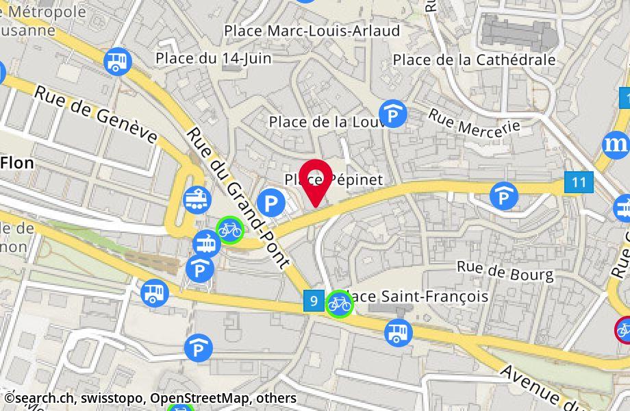 rue Centrale 5,1003 Lausanne