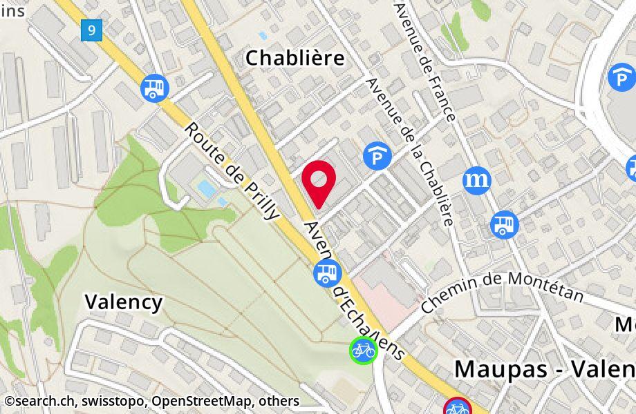 avenue d'Echallens 100,1004 Lausanne