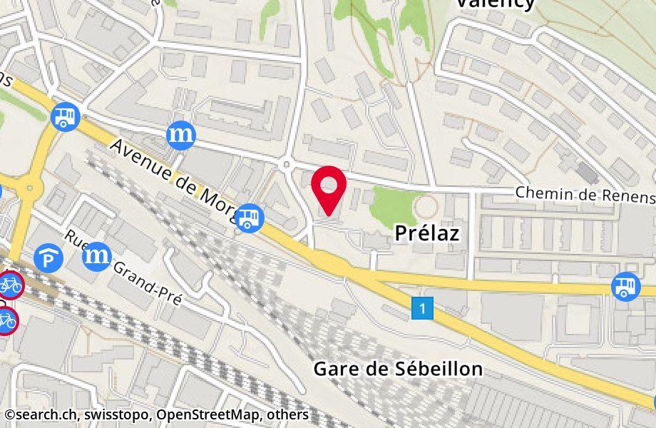 avenue de Morges 68,1004 Lausanne