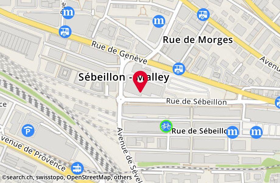 rue de Sébeillon 12,1004 Lausanne