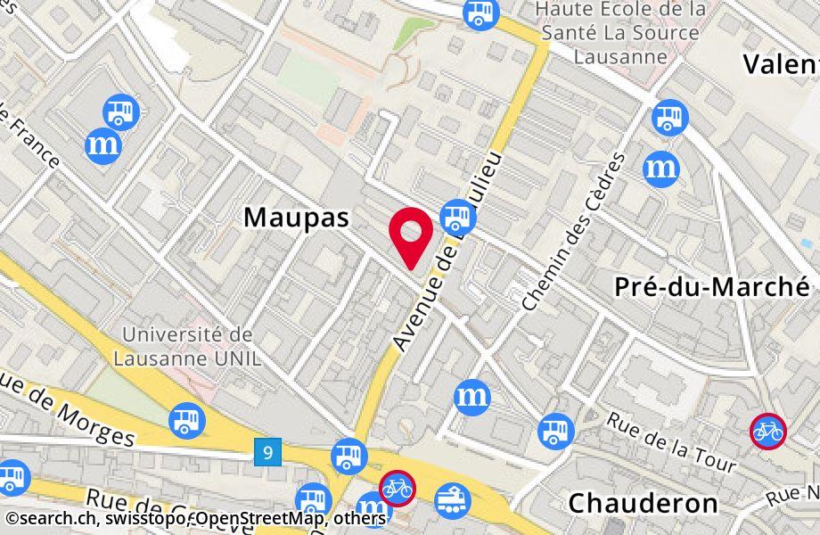 rue du Maupas 22,1004 Lausanne