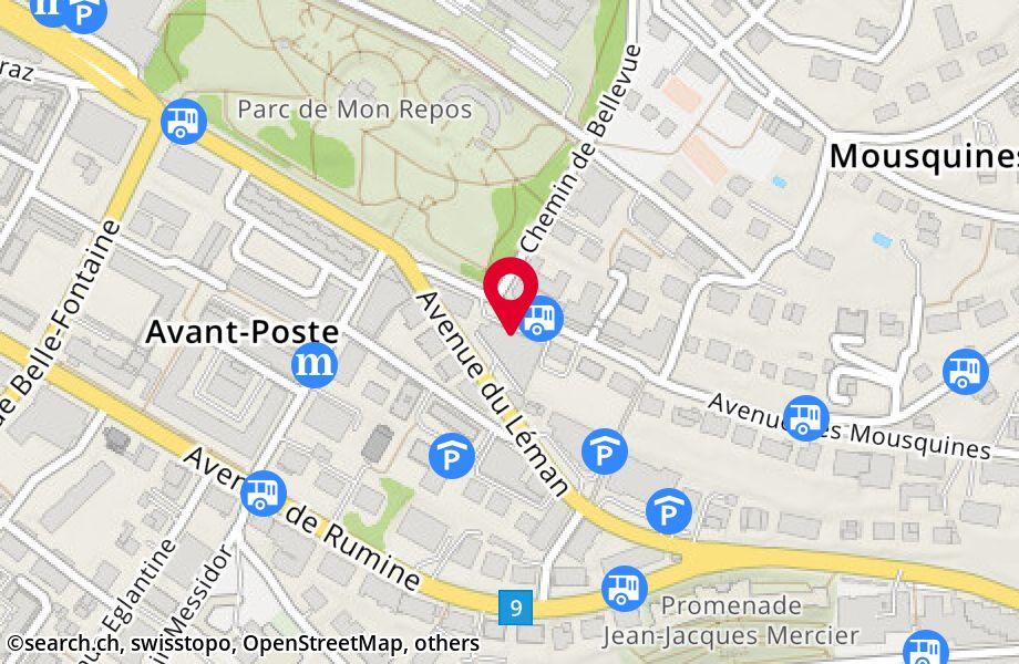 avenue des Mousquines 4,1005 Lausanne
