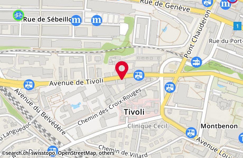 avenue de Tivoli 5,1007 Lausanne
