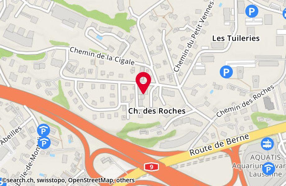 chemin de Grand-Vennes 15,1010 Lausanne