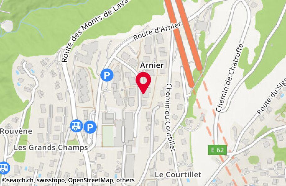 route d'Arnier 26,1092 Belmont-sur-Lausanne