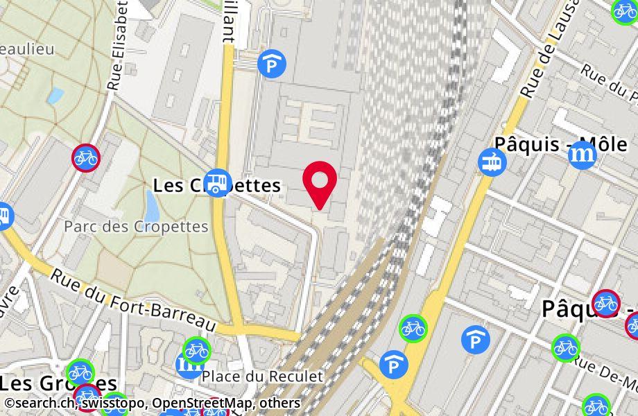 rue des Gares 12,1201 Genève