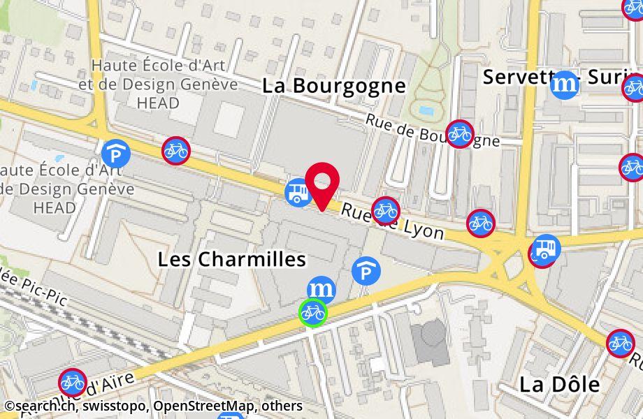 rue de Lyon 91,1203 Genève