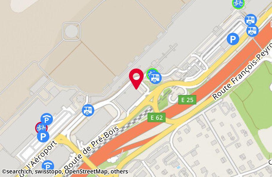 route de l'Aéroport 10,1215 Genève 15 Aéroport