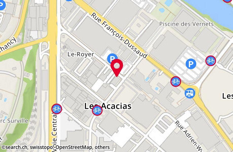 rue Le-Royer 13Bis,1227 Les Acacias