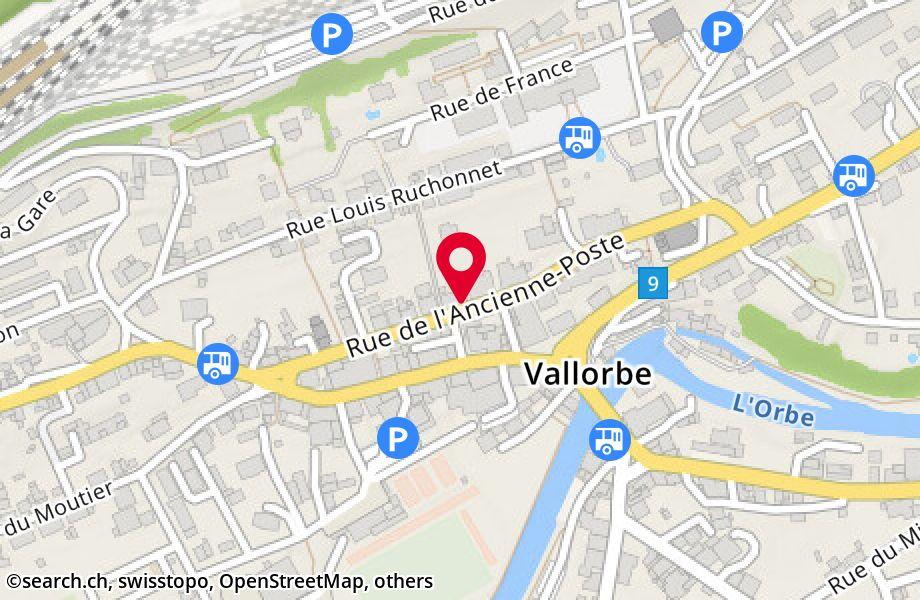 rue de l'Ancienne-Poste 33,1337 Vallorbe