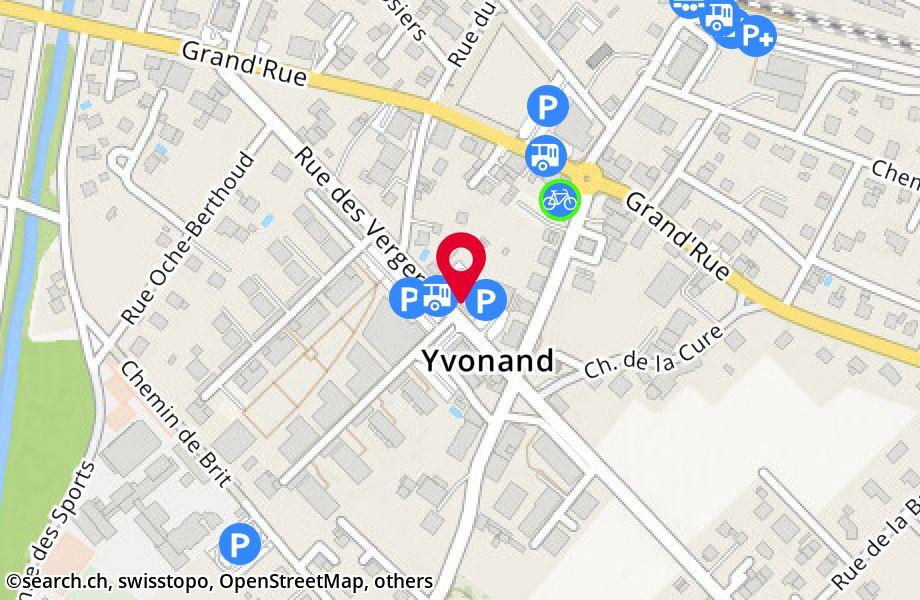 rue des Vergers 4,1462 Yvonand