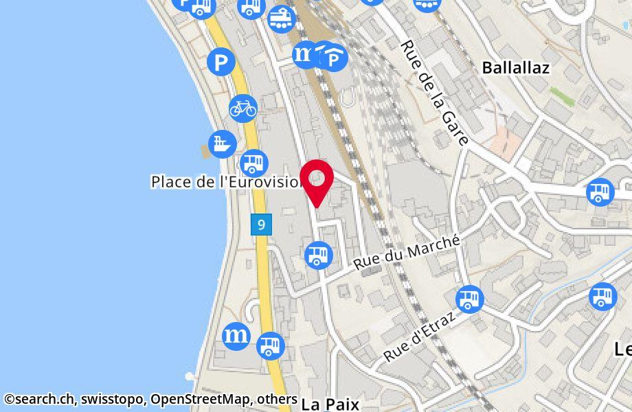 avenue des Alpes 58,1820 Montreux
