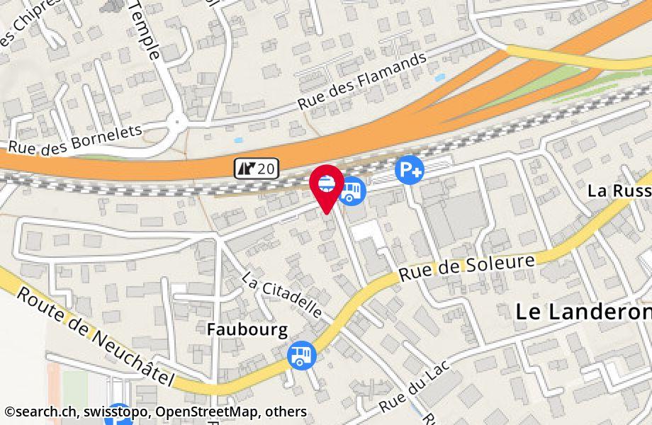 rue de la Gare 10,2525 Le Landeron
