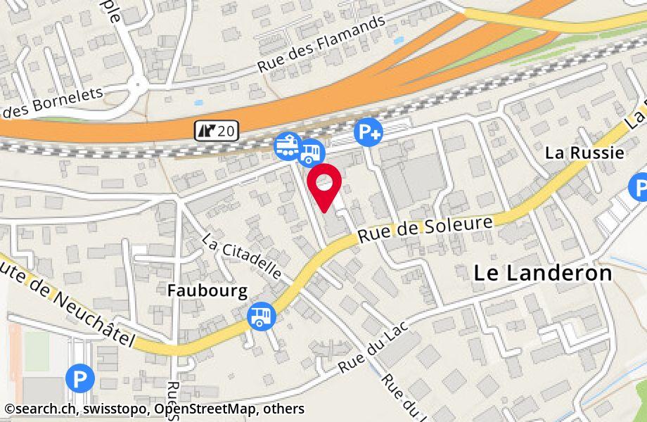 Rue du Centre 2,2525 Le Landeron