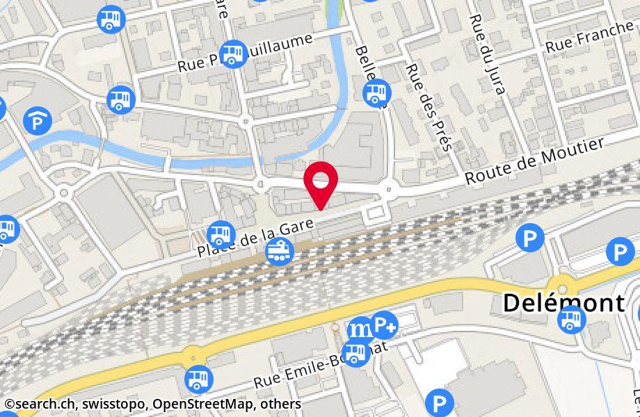 place de la Gare 10,2800 Delémont