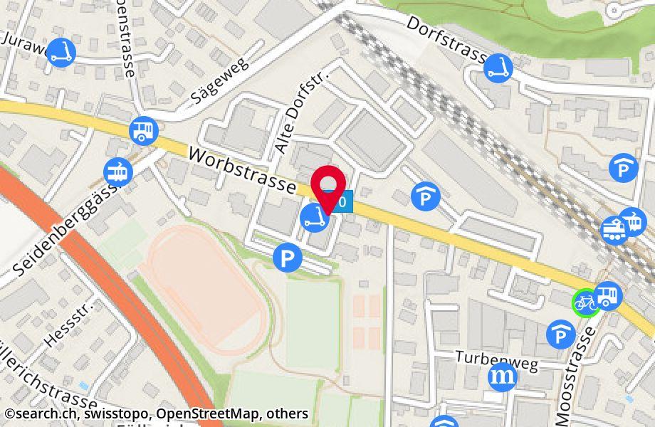 Worbstrasse 180,3073 Gümligen