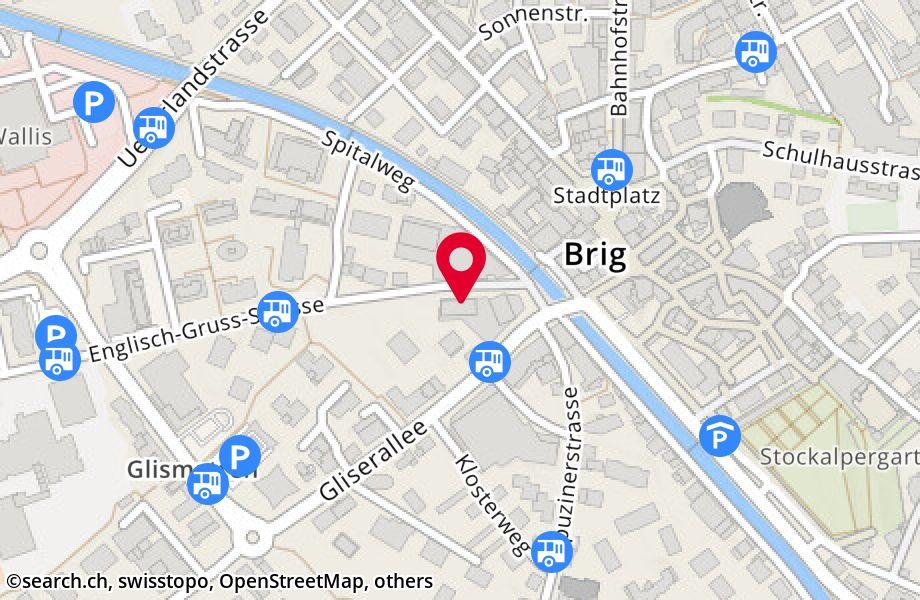 Englisch-Gruss-Strasse 1,3902 Glis