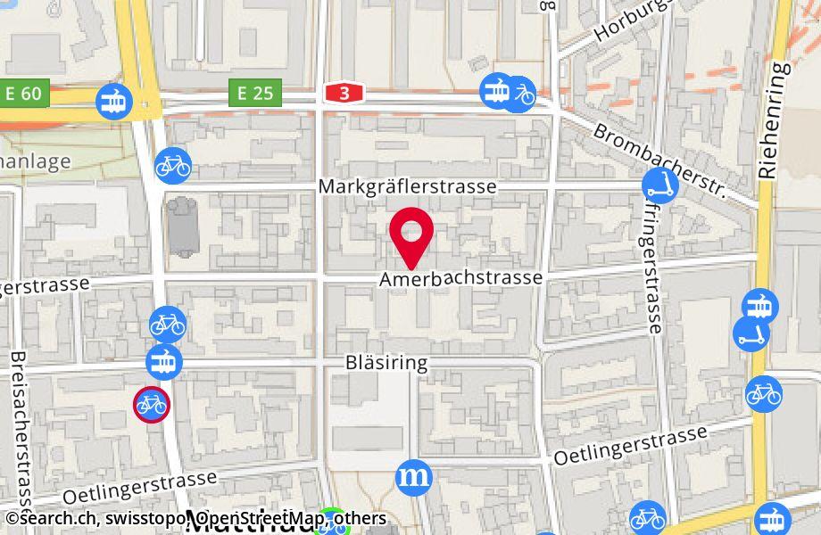 Amerbachstrasse 45,4057 Basel
