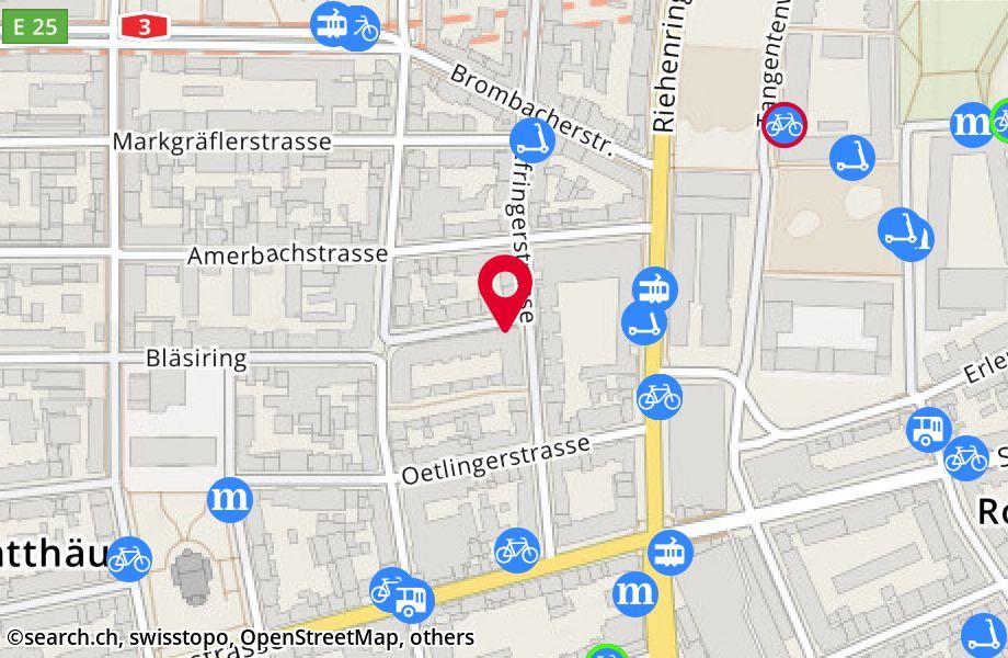 Bläsiring 160,4057 Basel