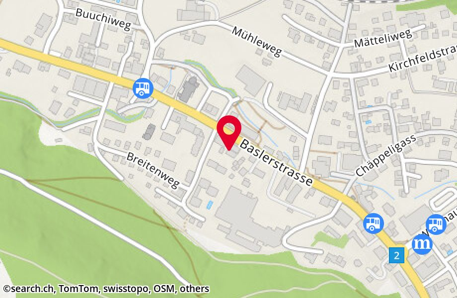 Baslerstrasse 189,4632 Trimbach
